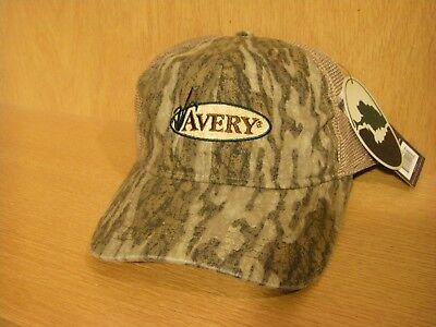 Avery Sporting Dog ASD Logo Hat Training Cap NEW Gray Patch Trucker Style