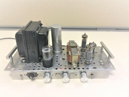 Vintage Stereo ADMIRAL tube amplifier 6BQ5/EL84 works plug &play Free shipping
