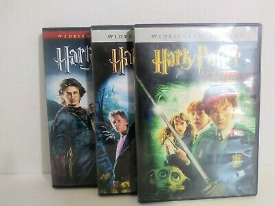 Harry Potter DVD Trilogy(2002,2005,2007) Pre-owned