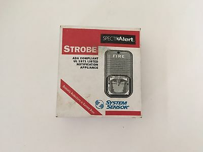 Nib New System Sensor S241575 Spectralert Fire Alarm Remote Strobe