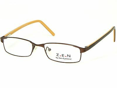 NEW ZEN EYEWEAR Zenna 70 OAK BROWN EYEGLASSES FRAME UNI GLASSES 52-18-140 B27mm