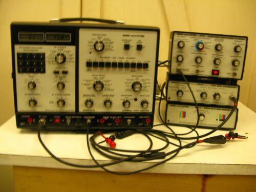 Sencore VA62,ST65,VC63,NT64 VIDEO TEST EQUIPMENT.