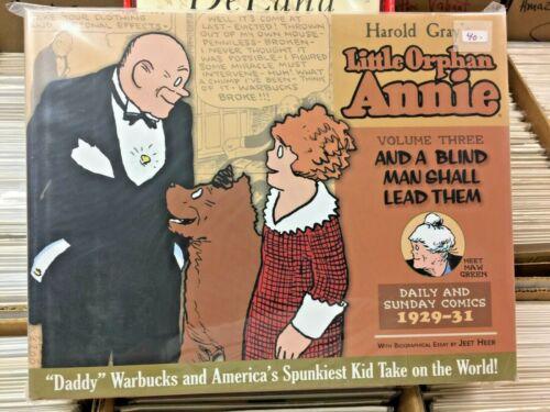 LITTLE ORPHAN ANNIE HARD COVER VOL 3 1929 - 1931  DAILIES & SUNDAYS HAROLD GRAY