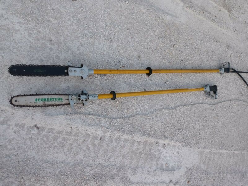 Hydraulic Pole Saw (1) 6ft (1) 7ft in length