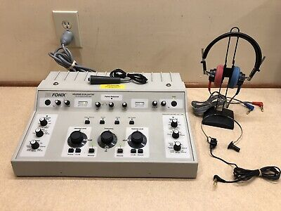Frye Fa-10 Clinical Audiometer With New Calibration Certificate
