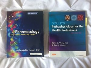pharmacology and pathophysiology text books
