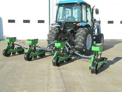 Best Hemp Planter For 4x4 Grid 4-row Green Earth Precision Vacuum Planter