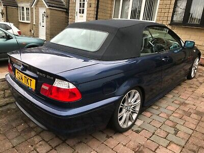 BMW 320cd M sport convertible 2005 low mileage