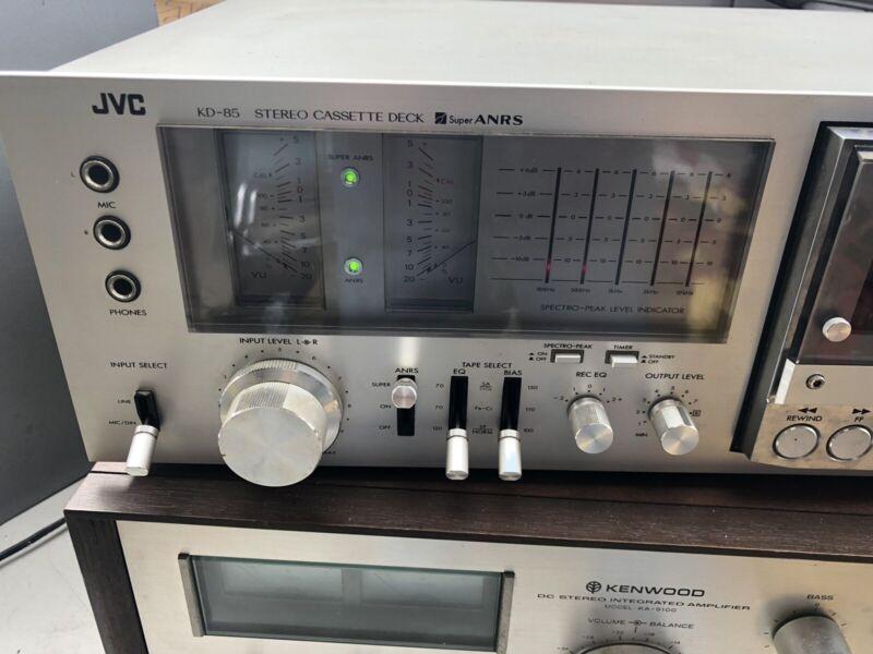 JVC KD-85-U Cassette Deck - Vintage Tape Deck