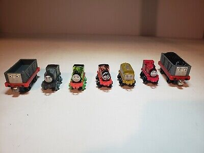 Mini Thomas The Train (Lot of 3 Thomas the Train Trackmaster Engines. Troublesome Trucks, &)