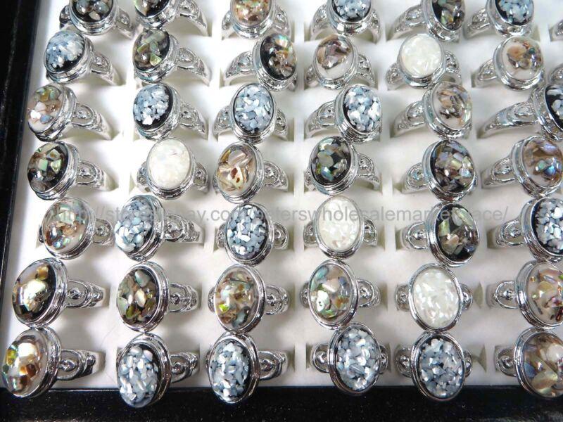 15pcs  seashell ring fashion jewelry fashion costume