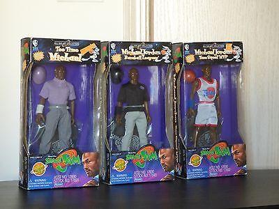 Lot 3 Galaxy Collection Michael Jordan Space Jam Golf  Basketball  Baseball Doll