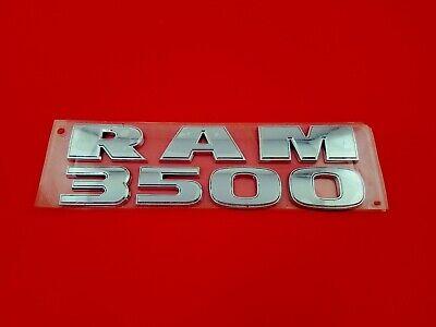 09 10 11 12 13 14 15 16 DODGE RAM 3500 SIDE DOOR EMBLEM LOGO BADGE SIGN OEM 2012