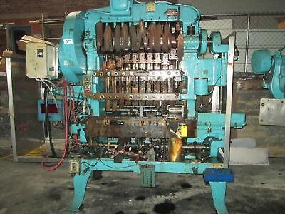 Waterbury Farrel 1510 Icop 4stroke Transfer Press Warc-trol-1 Die Protection