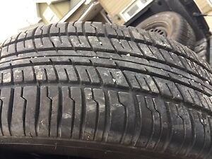 Almost new all season tires on rims