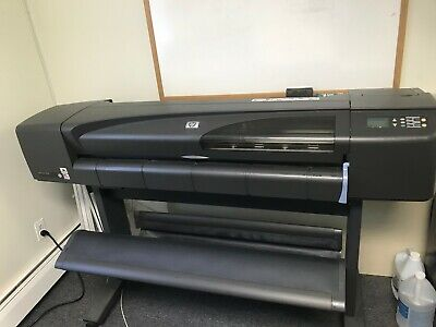 Hp Designjet 800s 42 Wide Format New Parts Excellent Condition