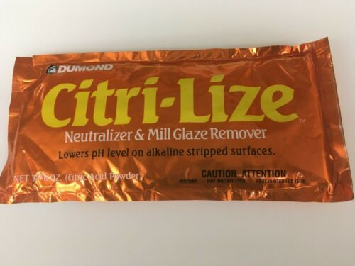 Dumond 2030 Citri-Lize Neutralizer And Mill Glaze Remover, 8 Ounce Package