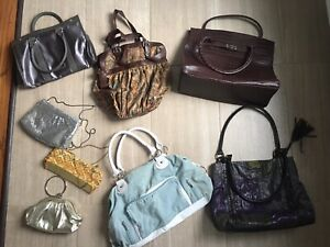 Handbags & Clutches - Excellent Condition (See prices on photos)