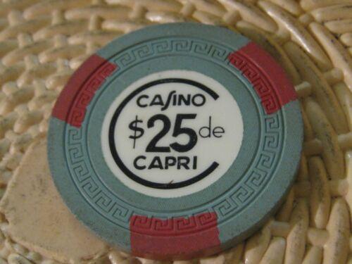 Casino de Capri Vintage $25 Casino Chip