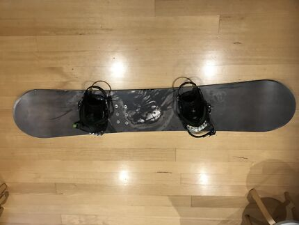Snowboard and gear for sale