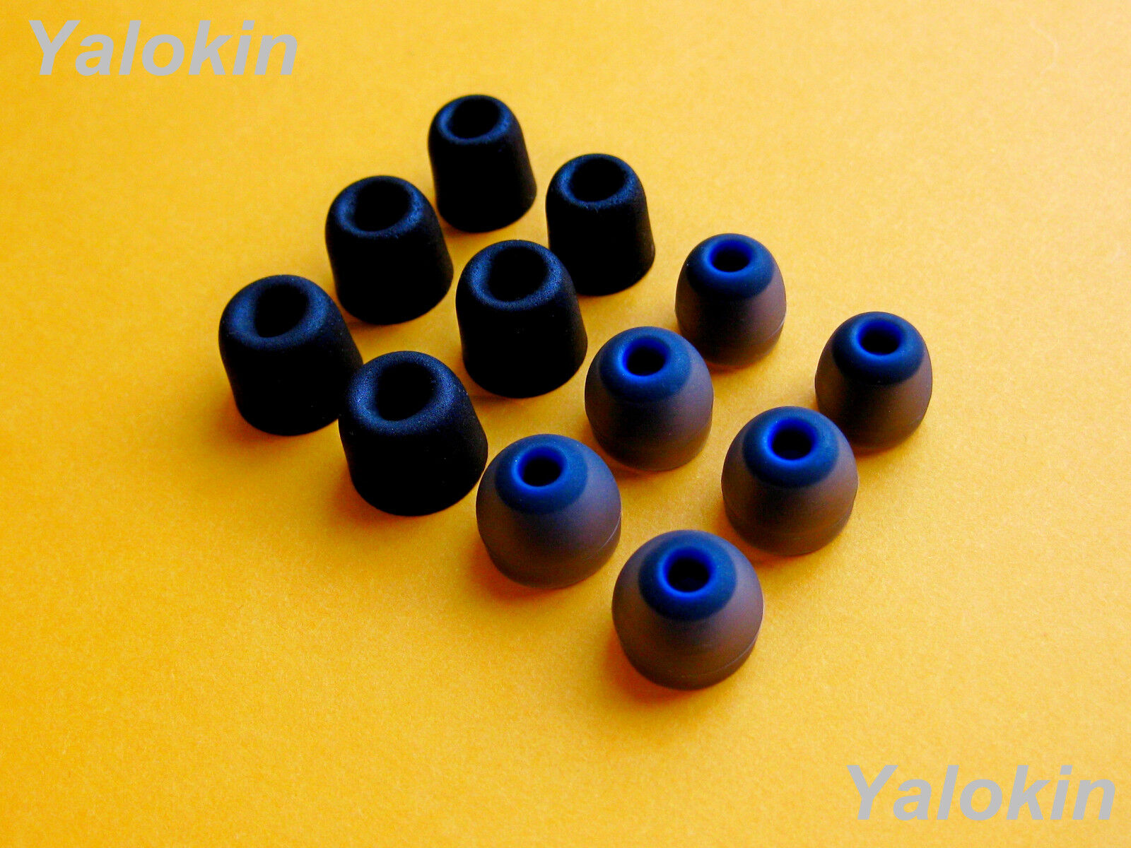 12 pcs  S/M/L Memory Foam and Round Earbuds Tips for Jaybird