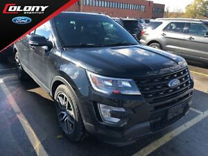 2017 Ford Explorer Sport | 4WD | Leather | Cooled Seats | Roof