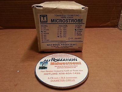 Freeshipsameday Tomar Microstrobe 480 Strobe Light 120vac 60hz 5w Amber New Box