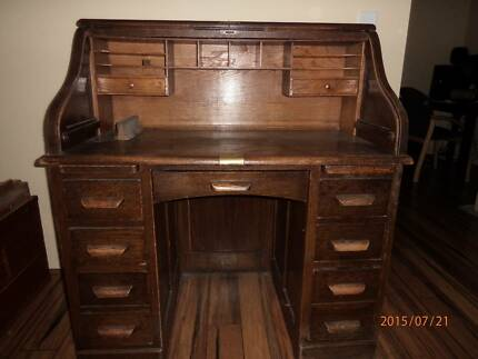 writing  desk english oak Millbridge Dardanup Area Preview