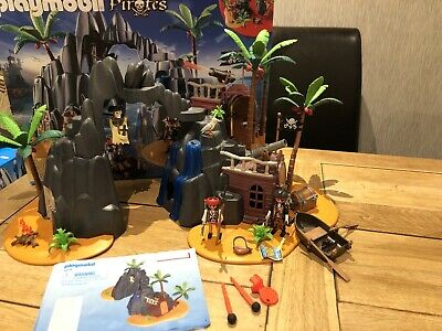 Playmobil 6679 Pirate Treasure Island, Lockable Jail Cell - Near complete, boxed