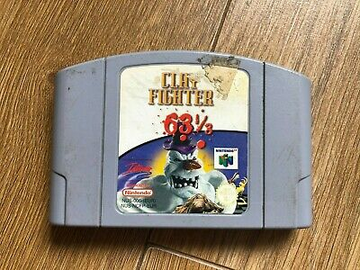 Clay Fighter 63 1/3 for Nintendo 64 N64 Cart Only PAL CHEAPEST ON E-BAY!