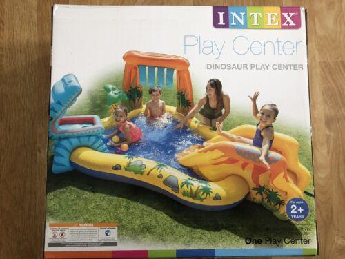 Intex Dinosaur Play Center Kiddie Pool Toddler Kids Outdoor