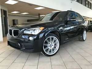 BMW X1 xDrive28i GPS M/PACK CUIR ROUGE TOIT PANORAMIQUE