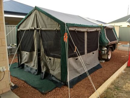 Camper Trailer Oztrail Camper 6 North Yunderup Murray Area Preview