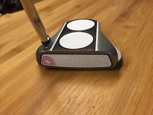 Putter Odyssey Whiote Hot RX 2 ball