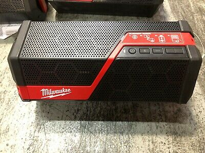 - Milwaukee Tool 2891-20 M18/M12 Lithium-Ion Cordless Wireless Jobsite Speaker NEW