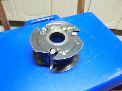 Shaper Cutter Molder Head  Insert Carbide 40 Mm Bore
