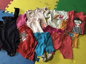 Baby girl 9 month clothes