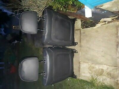 BMW E46 Front Leather Seats
