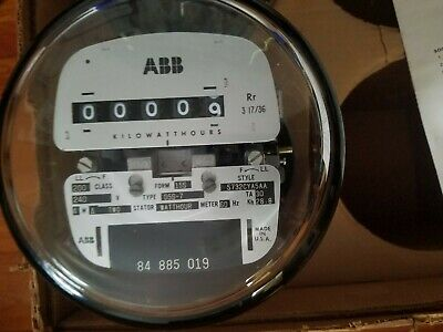 New Abb D5s - 7 Electric Polyphase Watthour Meter