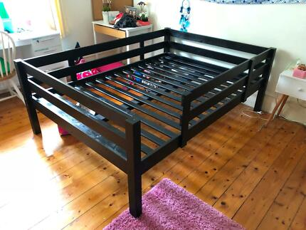 IKEA STORÅ Loft bed frame (black), great condition | Beds | Gumtree ...