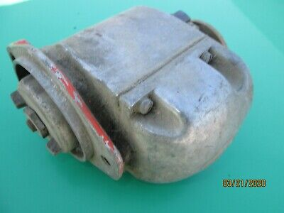 Antique Vintage J. I. Case Tractor 4 Cylinder Engine Jm Magneto Used Untested