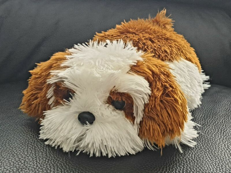 Shaggy Old English Sheep Dog Bearded Collie Stuffed Plush Toy Animal