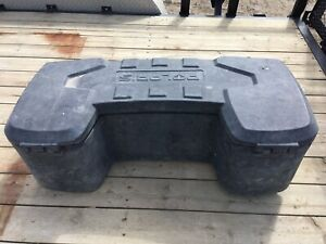 Polaris ATV rear storage box