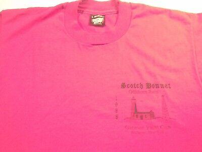1988 SCOTCH BONNET OFFSHORE RACE GENESEE YACHT CLUB  T-SHIRT-MD-LG SAILING  NY