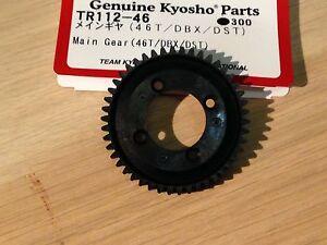 KYOSHO DBX DRT DST DRX 46 TEETH SPUR/MAIN GEAR TR112-46