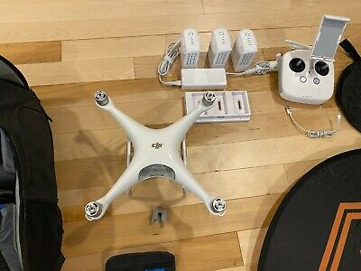 DJI Phantom 4 PRO - Flown Twice - Tons of EXTRAS - Backpack - 32GB Extreme Card