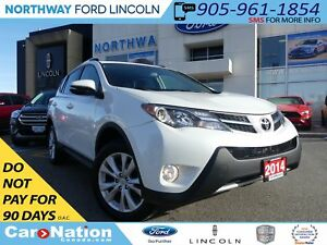 2014 Toyota RAV4 LTD |MOON ROOF| LEATHER | REMOTE START | AWD |