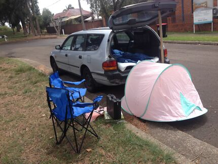 Perfect for travel,sleep in&camping,6month rego