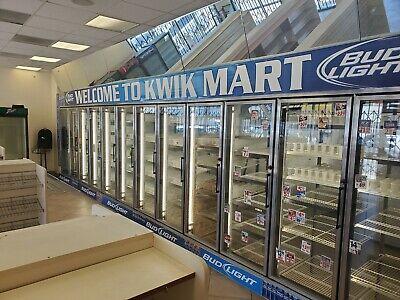 12 Door 30 X 8 X 8 Walk In Cooler Refrigerator