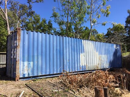 40 foot shipping container Worongary Gold Coast City Preview